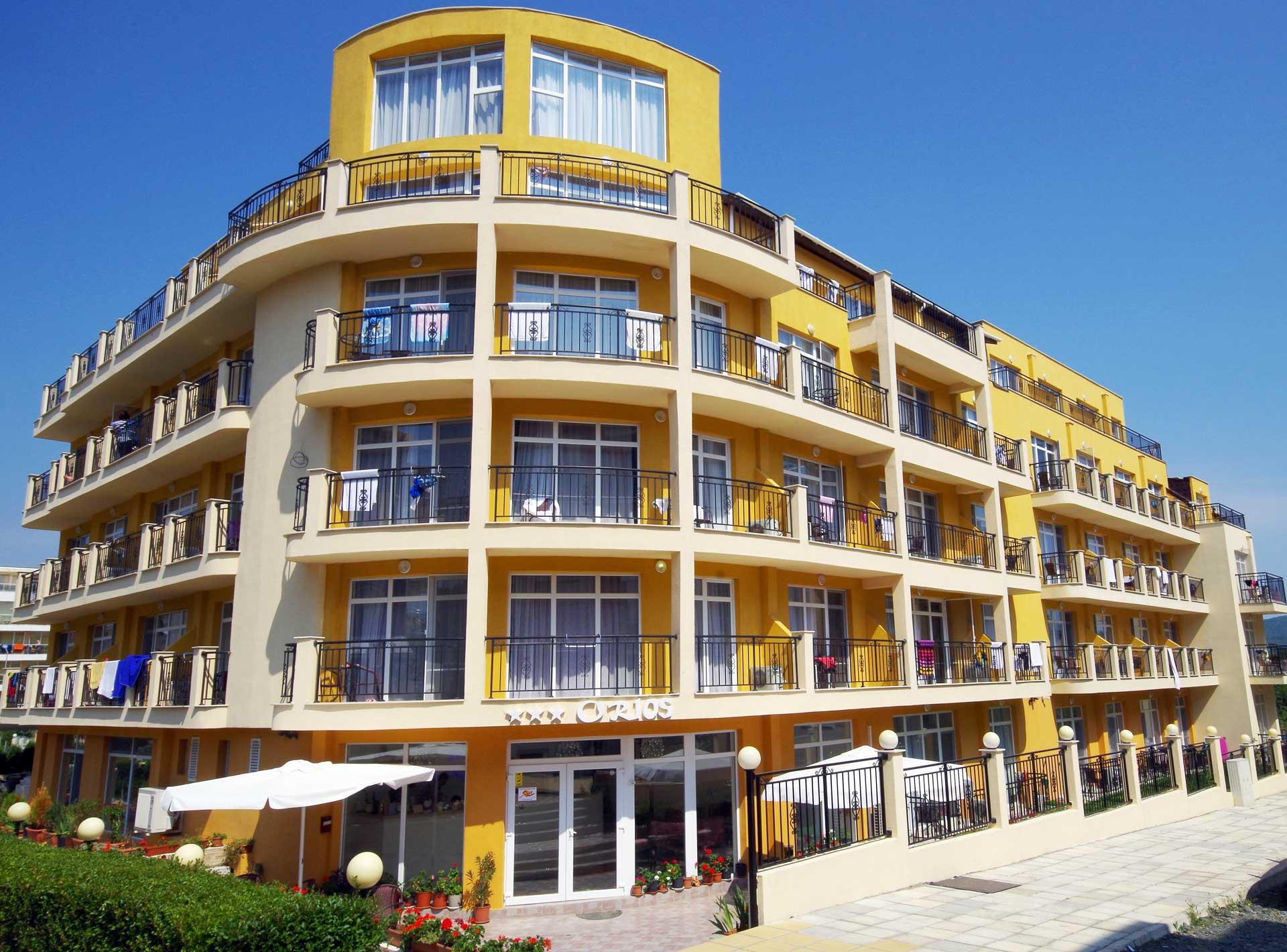 Facad Hotel Orios