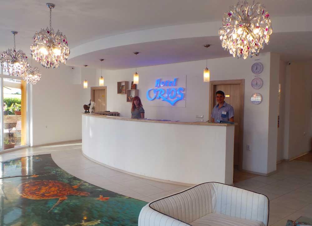 Reception Hotel Orios